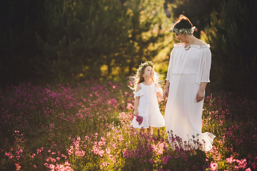 Sesja rodzinna mamy z córką | fotografia rodzinna Kielce