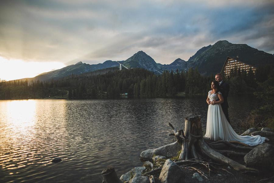 Plener ślubny nad Szczyrbskim Jeziorem | K&S