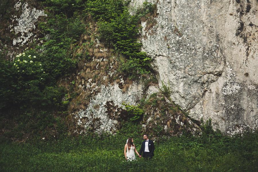 K&T | sesja poślubna w Ojcowie i na Pustyni Błędowskiej