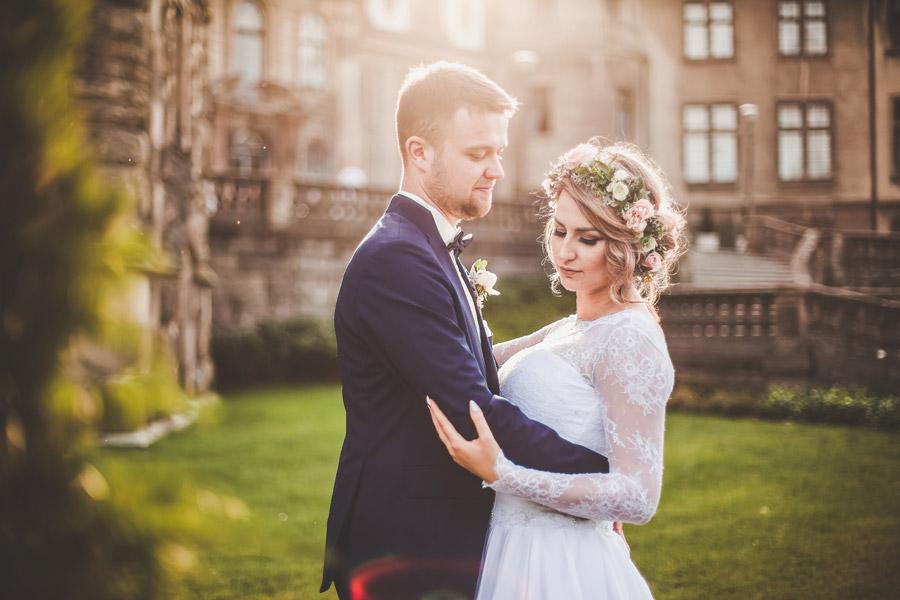 Daria i Wojtek | sesja ślubna | Zamek Moszna