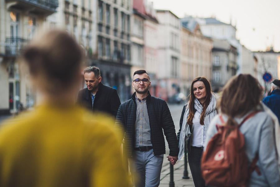Kamila i Tomek | sesja narzeczeńska w Krakowie