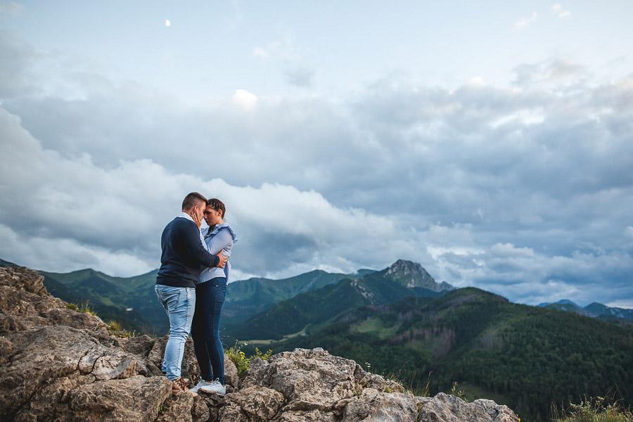 Sesja narzeczeńska w Tatrach | A&D