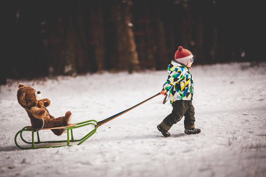 Zimowa sesja rodzinna | fotografia rodzinna Kielce
