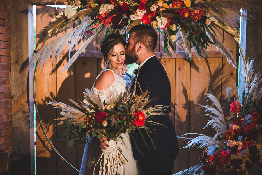 Ślub w stylu boho – sesja stylizowana